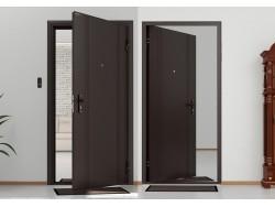 Vchodové dveře DoorHan Antique stříbro