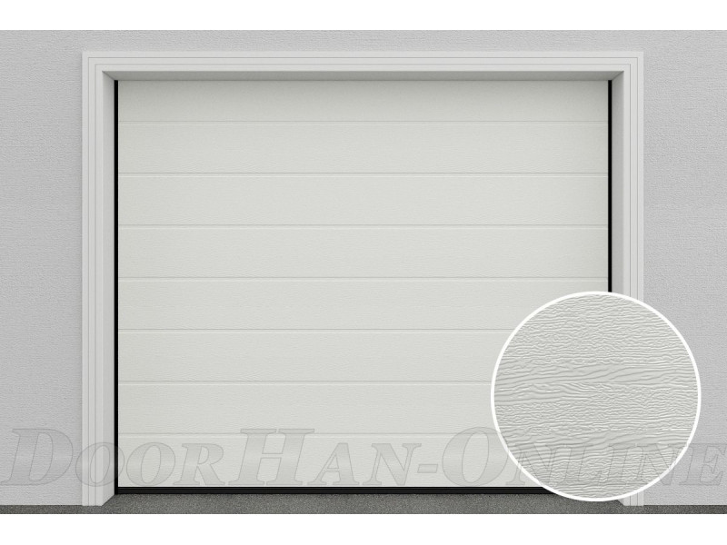 Sekční garážová vrata DoorHan DIY - Bílá Ral 9010