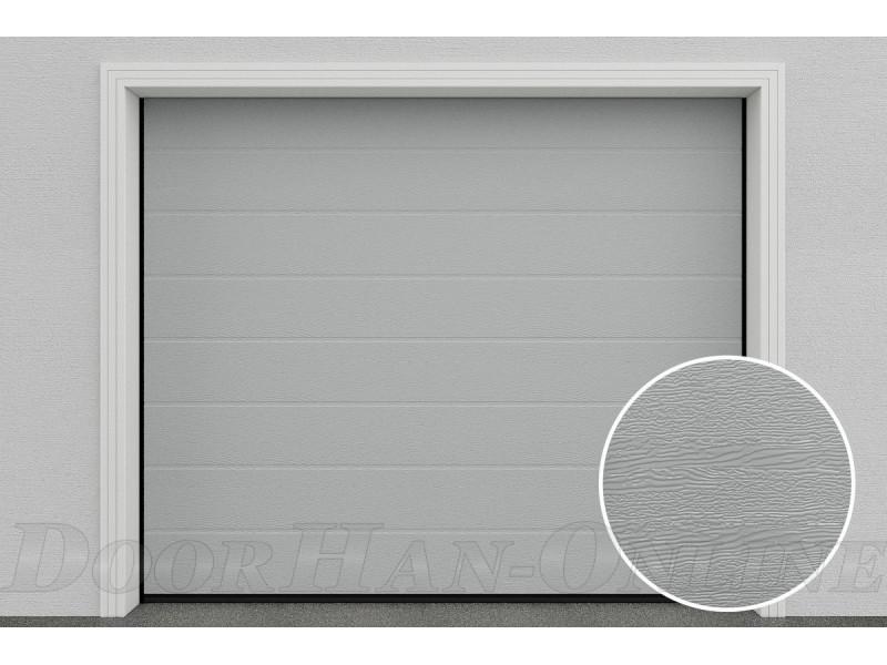 Sekční garážová vrata DoorHan DIY - Stříbrné Ral 9006