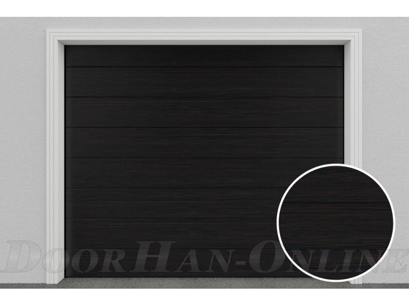 Sekční garážová vrata DoorHan DIY - Wenge