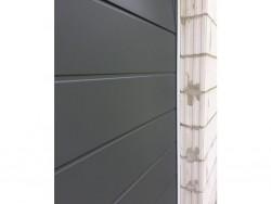 Sekční garážová vrata DoorHan - Satin Grey (folie)